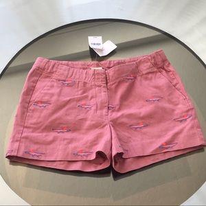J. Crew Girls Alligator Shorts Size 14 NWT